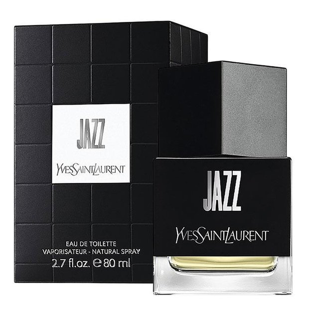 Jazz Yves Saint Laurent is a fragrance family fragrance for Hombres.Las Aromtica Woody notes are lavender abrtano nutmeg cinnamon basil cilantro bergamot and cardamom ans notes are carnation iris Corazn jasmine and geranium base notes are sandalwood leather mbar tonka bean musk cedar and oak moss snuff. - buy online