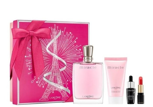 SET MIRACLE EDP 100 ML + BODY LOTION 50 ML + ABSOLUTE ROUGE + GENIFIQUE 2018
