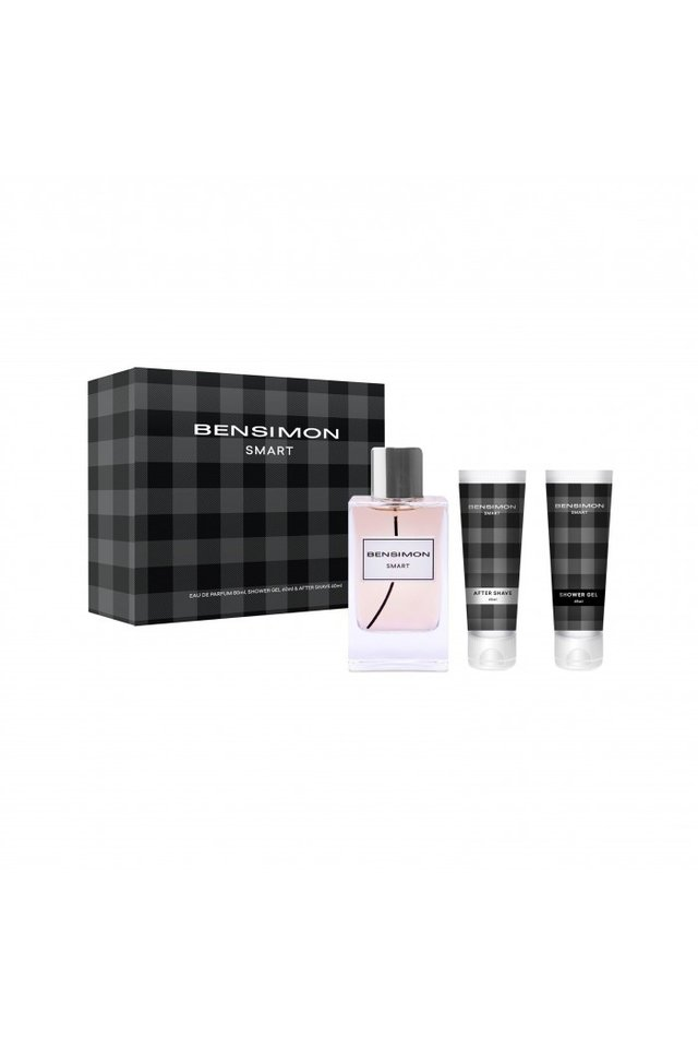 SET BENSIMON SMART EDP + AFTERSHAVE + SHOWER GEL