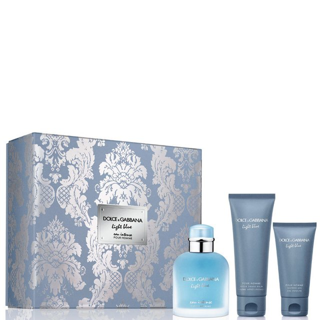 SET LIGHT BLUE HOMME EAU INTENSE EDP 100 ML + SHOWER GEL 50 ML + AFTER SHAVE 75 ML