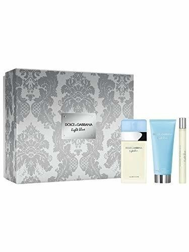 SET LIGHT BLUE MUJER 100 ML + BODY LOTION 100 ML + TRAVEL 10 ML