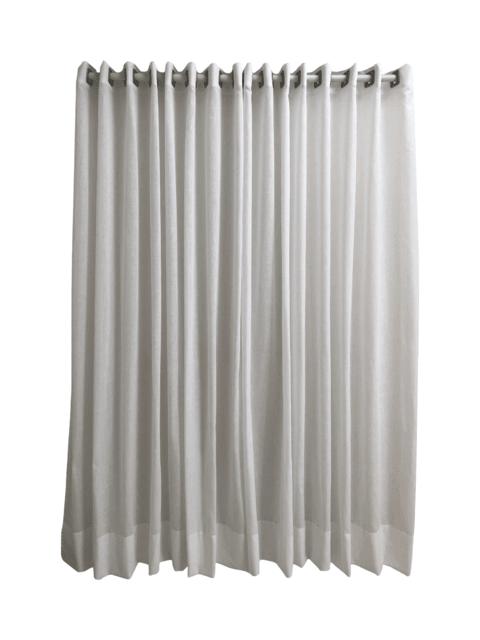 da54d380916dc9 Cortina de ilhós em gaze de linho branca - 4,40x2,40m
