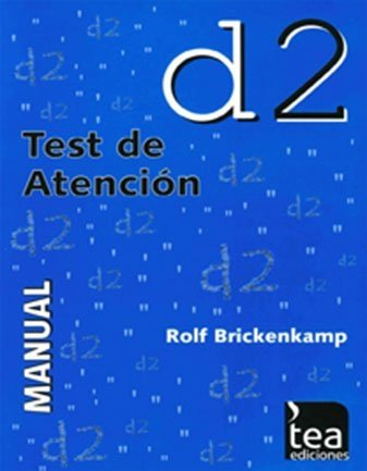 TEST DE ATENCIÓN D2 JC. BRICKENKAMP ROLF