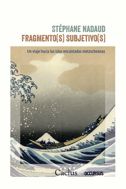 FRAGMENTO(S) SUBJETIVO(S). NADAUD STEPHANE