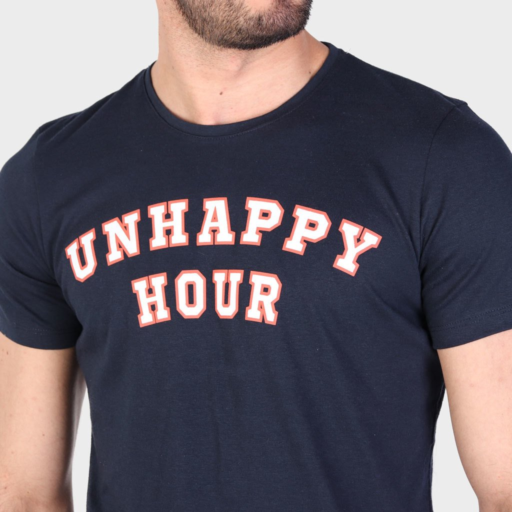 Remera Unhappy Hour Azul SS19 - comprar online