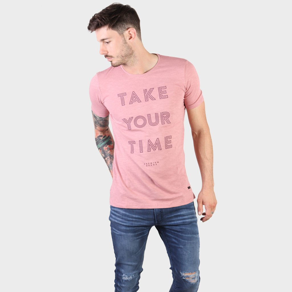 Remera Take Your Time Rosa SS19