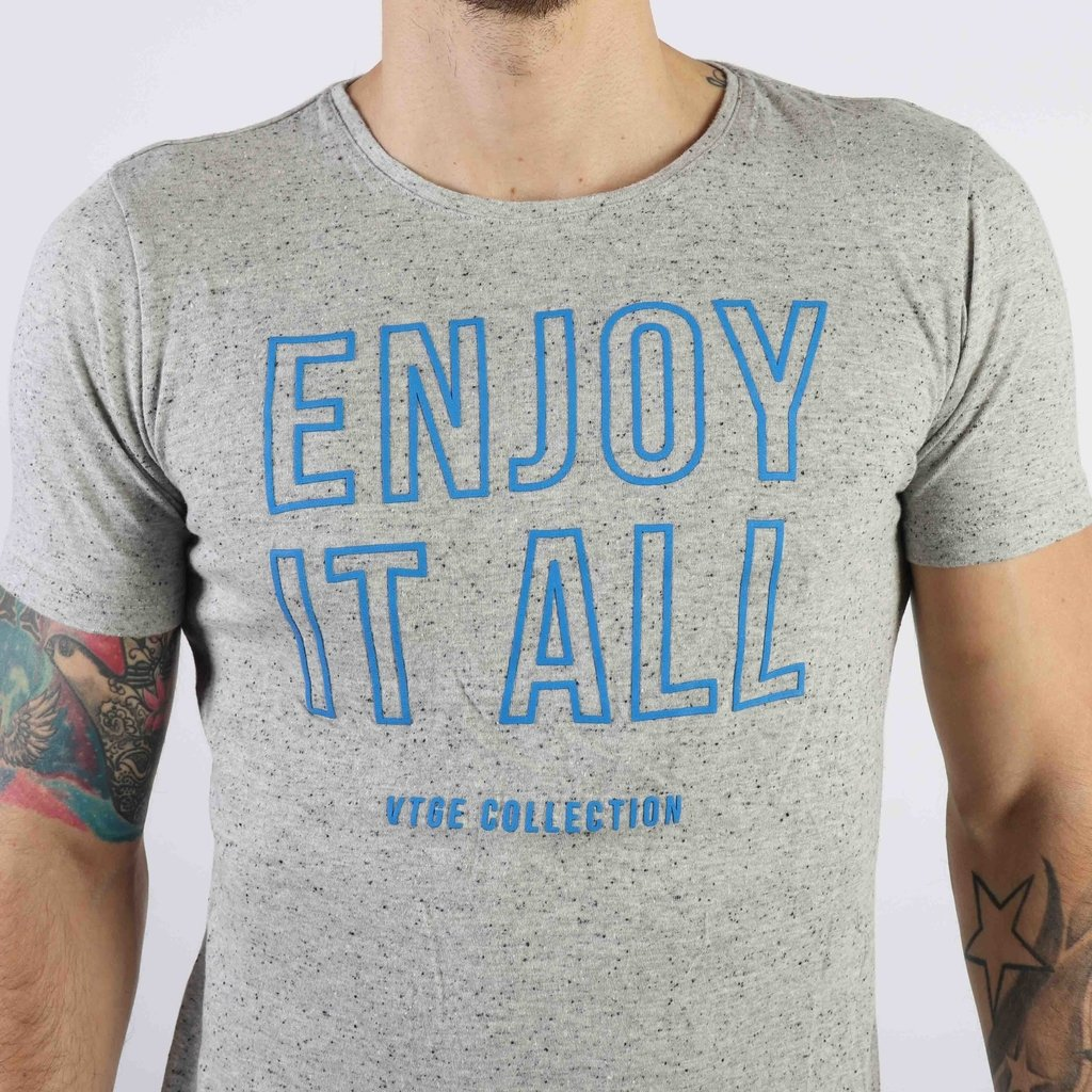 Remera Enjoy It All Gris SS19 - comprar online