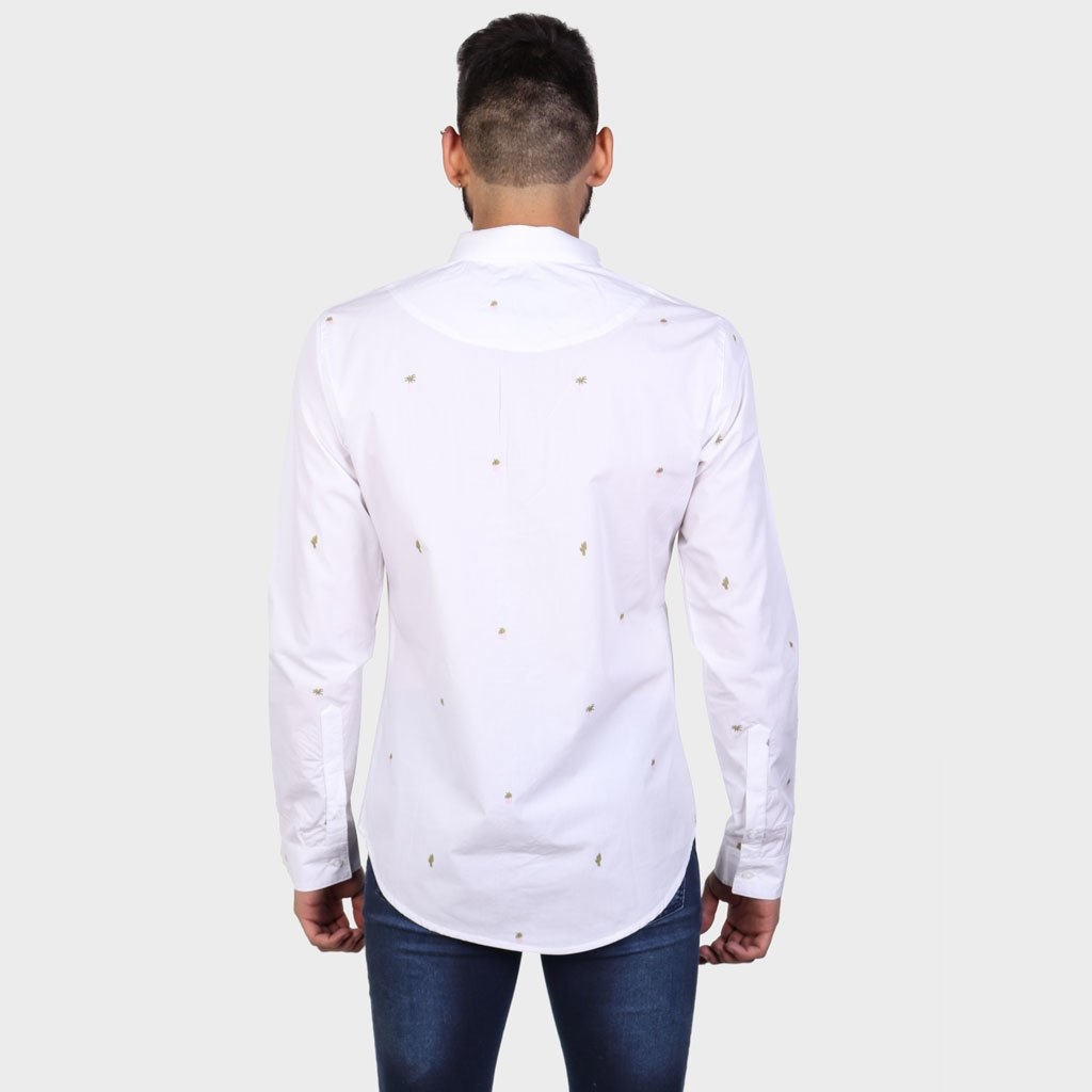Camisa Loania Blanca SS19 - comprar online
