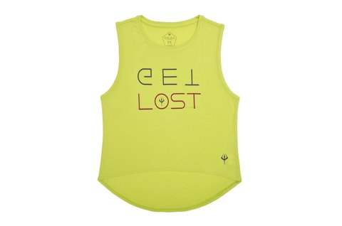 Musculosa Mujer Get Lost - Vylka Running