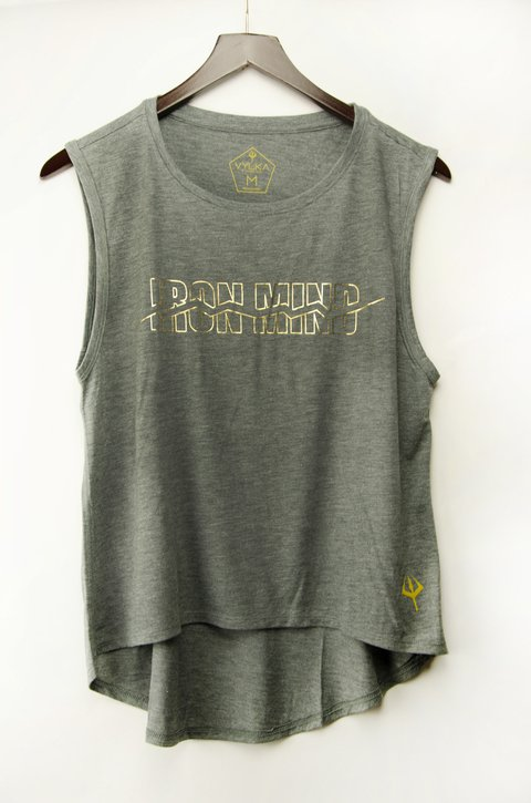 Musculosa Mujer Foil Iron Mind