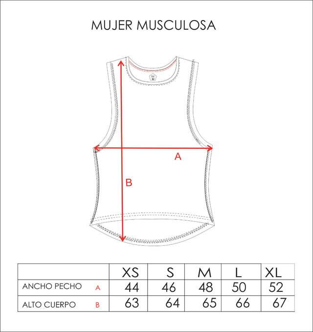 Musculosa Mujer Feeling Good