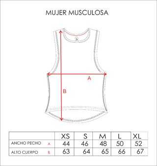 Musculosa Mujer Satisfy - comprar online