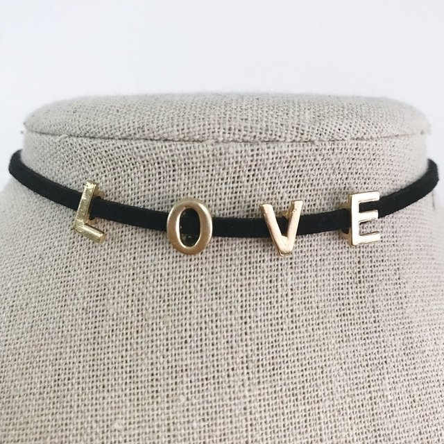 CHOKER LOVE (AC070) en internet