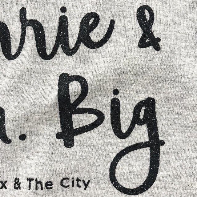 LOVELY TSHIRT CARRIE & MR.BIG (LT020) - tienda online