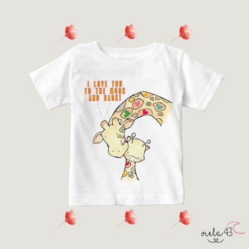 Camiseta Love You To The Moon And Back