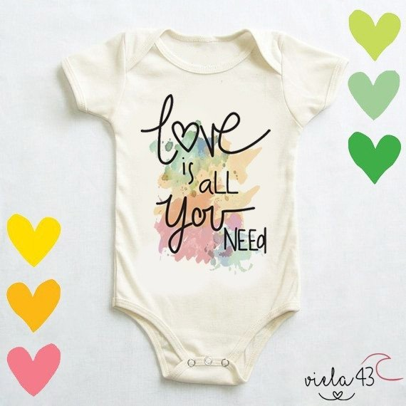 Body Bebê Love is All You Need - comprar online
