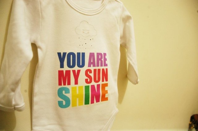 Body Bebê You Are My Sunshine - comprar online