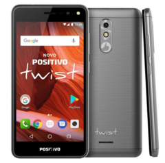 Celular Positivo Twist S511 16gb 8mp Dual Chip Cinza