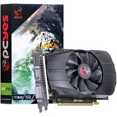 Placa de Vídeo VGA PCYes NVIDIA GeForce GT 730 Dual Fan 4GB, GDDR5, 128 bits, PCI-E 2.0