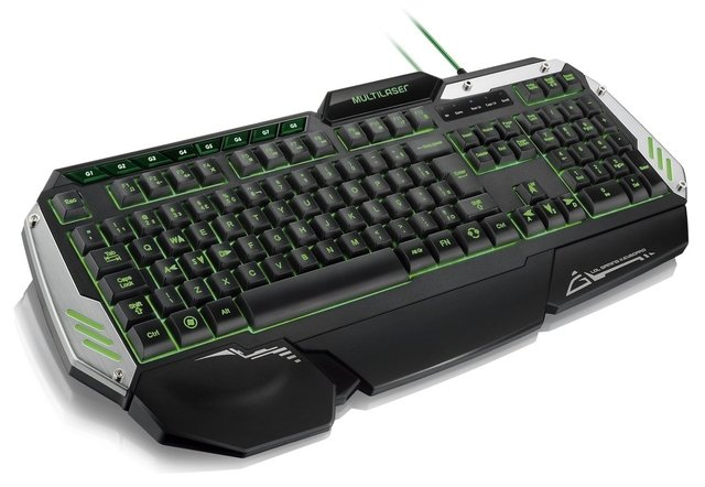 Teclado Gamer Metal W4R