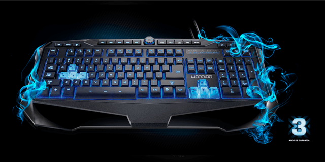 Teclado Gamer Warrior TC 167
