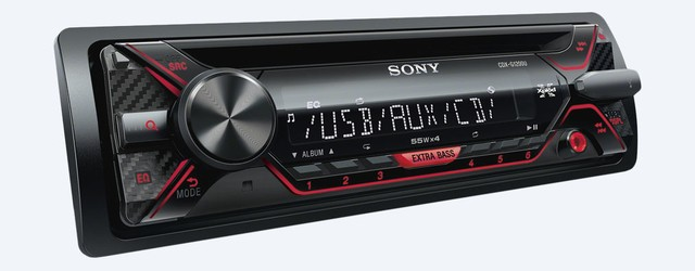 STEREO SONY CDX-G1200U MP3 USB AUX CR