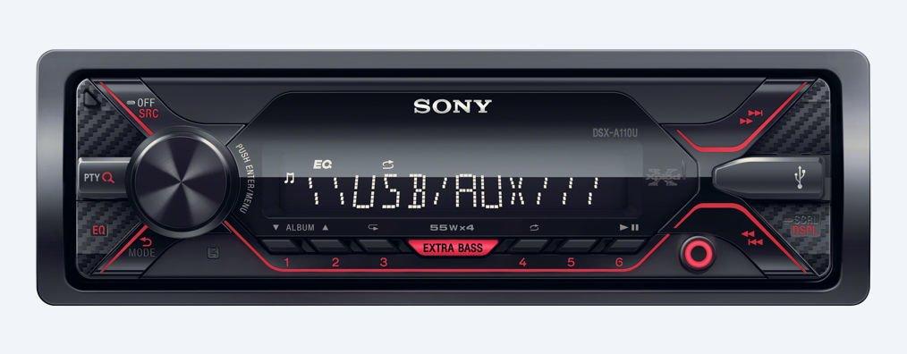 STEREO SONY DSX-A110U USB AUX SIN CD 52W X 4