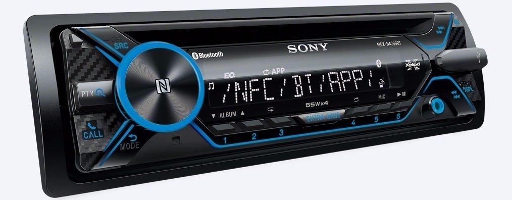 STEREO SONY MEX-N4200BT CD USB BT NFC APP REM