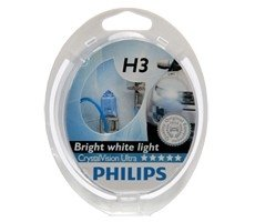 LAMPARA H3 CRISTAL VISION ULTRA PHILIPS
