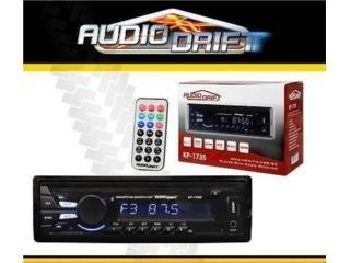 STEREO AUDIODRIFT USB SD AUX BT CONTROL REM