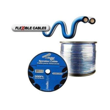 Cable 16 Gauge Audiopipe Azul Platino Flexible Por Metro