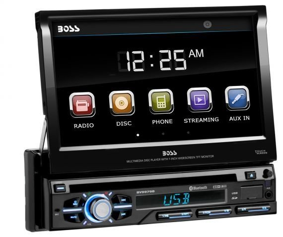 """STEREO BOSS BV-9979B DVD USB BT SD 7"""" IN DASH"""