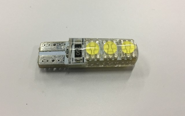 LAMPARA LED T10-6 BLANCO SMD 6 LED
