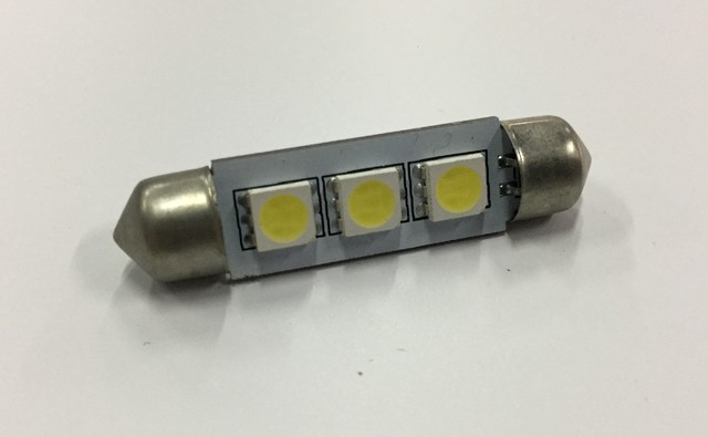 LAMPARA LED SJ-3 41mm BLANCO SMD 5050 3 LED