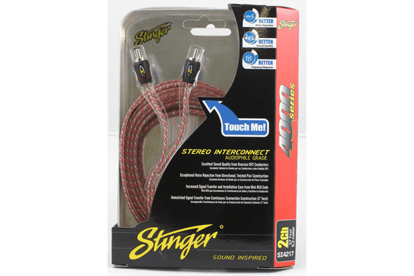 CABLE RCA STINGER 2 CANALES SERIE 4000 5.2 MTS SI4217