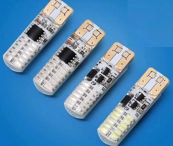 LAMPARA LED T10-24 BLANCO SMD 24 LED