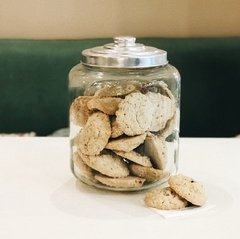 Cookies de Avena y Nueces