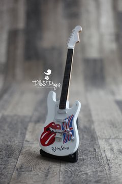 Imagem do Mini Guitarra - Famous Rolling Stones - White
