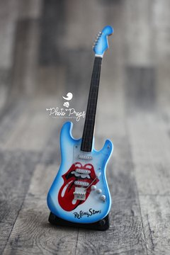 Imagem do Mini Guitarra - Famous Rolling Stones - Blue