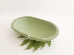 Gamela Oval - Verde Antigo