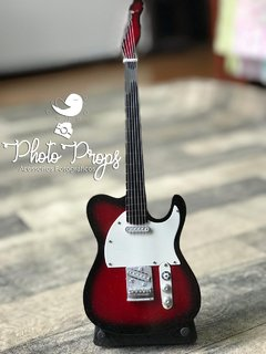 Mini Guitarra - Gibsony Red