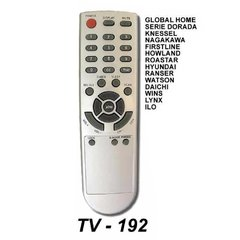 TV 192 - Control Remoto para TV Global Home