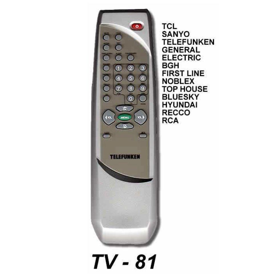 control remoto rca tv