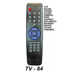 TV 84 - Control Remoto TV ALFIDE CROWN MUSTANG PHILCO TALENT