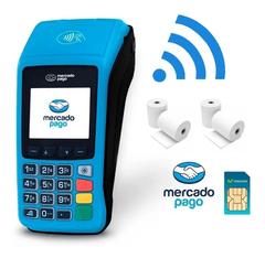 Mercado Pago Point Plus Lector Posnet + Rollos de Regalo