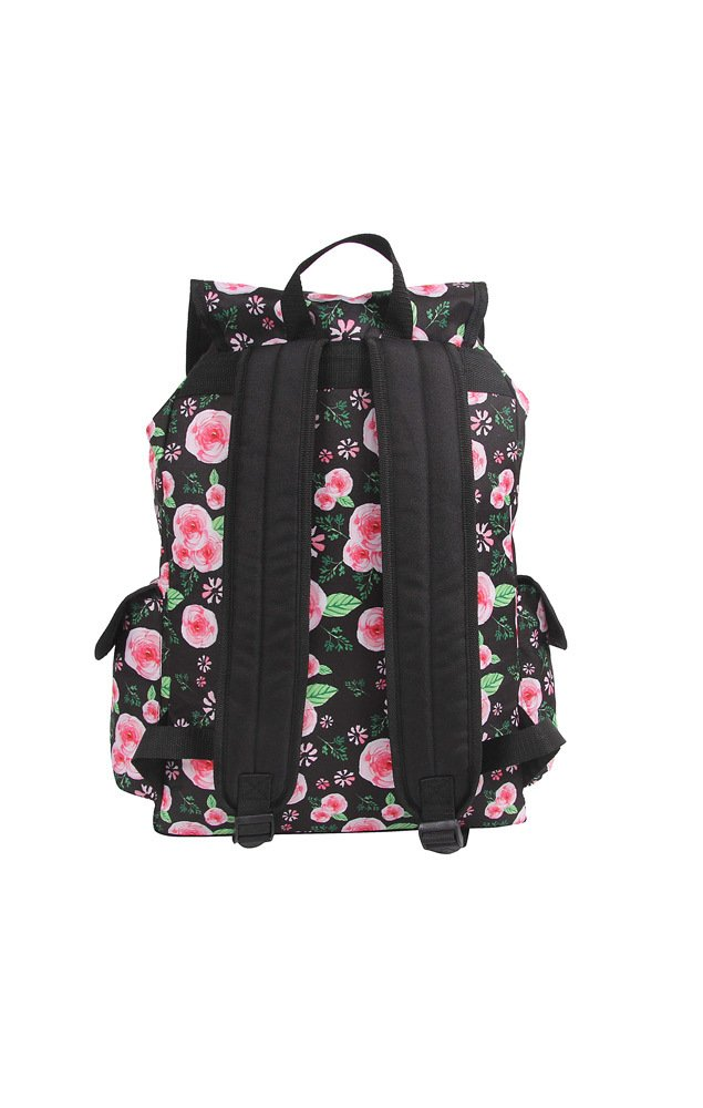 Mochila G c/ Bolso Frontal Container Floral – 30113 na internet