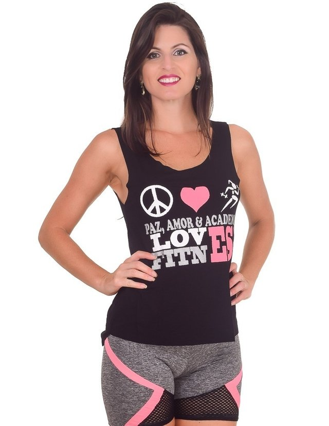 CAMISETA FITNESS COM SILK