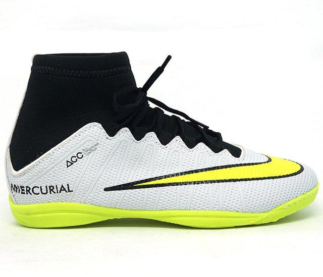 Chuteiras Nike Mercurial Cano Alto Futsal Cores c178a82f3527d