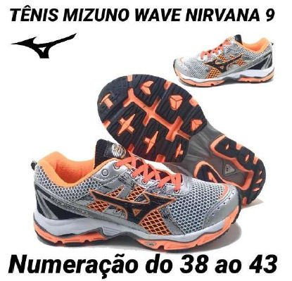 3829372e750ca Mizuno Wave Nirvana 9 Promoção!