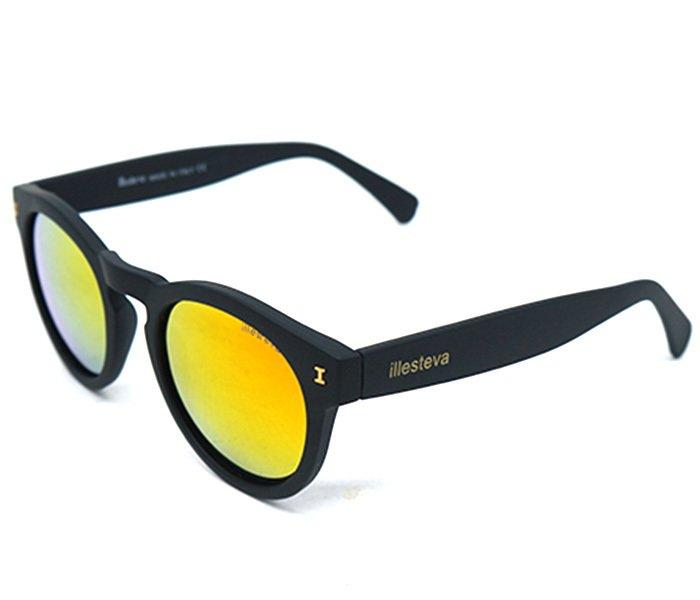 8ca192d8fedeb Óculos de Sol Feminino Illesteva Leonard Preto e Amarelo